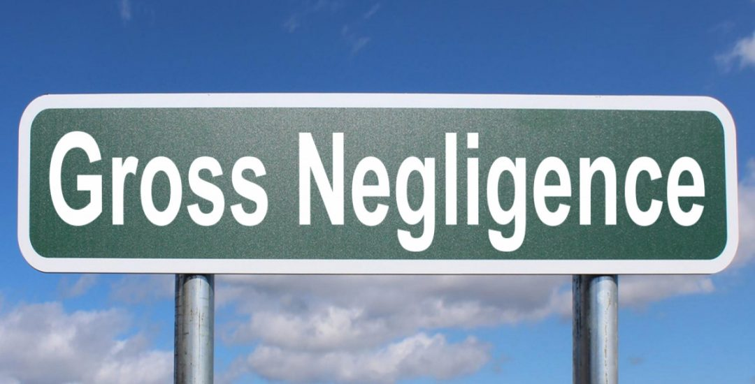 How to Distinguish Between Ordinary and Gross Negligence